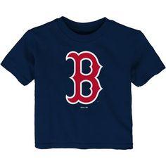 Infant Navy Boston Red Sox Team Primary Logo T-Shirt, Infant Unisex, Size: Mlb Merchandise, Boston Red Sox, Navy, Cotton, T Shirt, Shopping, Tops, Originals, Infant