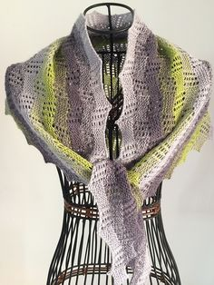 Ravelry: Go with the Flow Shawl pattern by Carol Ibbetson