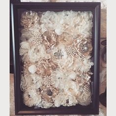 This came out better than I had hoped!  I took apart my bouquet (can easily be…