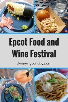 Epcot Food and Wine Festival 2014 - Disney in your Day