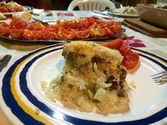 COLIFLOR A LA BECHAMEL CON CALABACÍN Y FRUTOS SECOS by De Buena  Mesa @Cookbooth http://www.cookbooth.com/recipe//coliflor-a-la-bechamel-con-calabacin-y-frutos-secos-99867