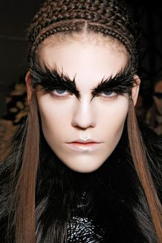 Here's what the futuristic makeup will look on your face