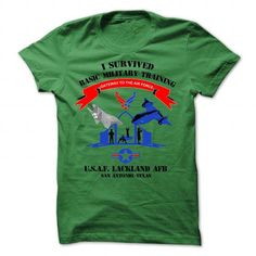 Awesome Tee AIR FORCE- Lackand AFB- GRADUATION - PT FITNESS  Tshirts
