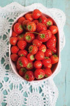 Erdbeeren Stills Törtchenzeit