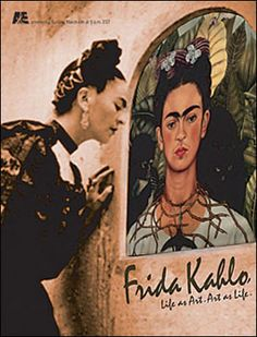 Frida Kahlo. My favorite painter Restaurante La Taberna de Diego y Frida