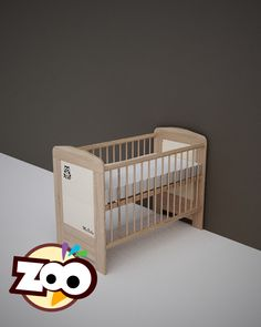 ZOO – babaágy 60 x120 cm-es  #babaágy Cribs, Bed, Furniture, Home Decor, Cots, Decoration Home, Bassinet, Stream Bed, Room Decor