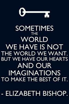 Heart and Imagination. Elizabeth Bishop
