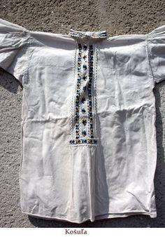 Zemplin Folk Costume, Costumes, Folk Embroidery, Tunic Tops, Folklore, Fashion, Moda, Dress Up Clothes, Fashion Styles