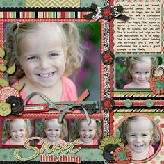 another great design to use a lot of photos on one layout