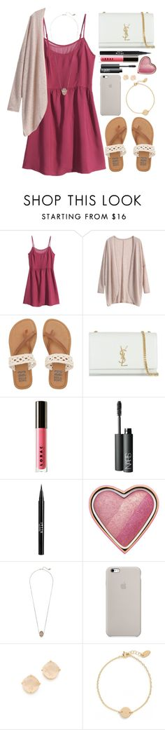 """Bored. Y'all Know Any Good Movies Or Shows On Netflix??"" by twaayy ❤ liked on Polyvore featuring H&M, Billabong, Yves Saint Laurent, LORAC, NARS Cosmetics, Stila, Too Faced Cosmetics, Michael Kors, Kate Spade and Nashelle"
