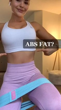 Band Workout, Gym Workout Videos, At Home Workout Plan, Gym Workouts, At Home Workouts, Workout Abs, Workout Exercises, Workout Ideas, Fitness Workout For Women