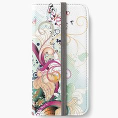 'Untitled' iPhone Wallet by knovadesign Iphone Wallet, Iphone 6, Open Book, Phone Covers, It Works, My Arts, Notebook, Art Prints, Printed