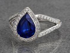 Wedding day jewelry | Ritani #SomethingBlue