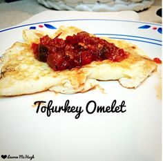 CLICK the pin to see exactly how I made this delicious Tofurkey omelet! REPIN if you will try this recipe :)