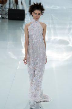 Le défilé Chanel haute couture printemps-été 2014