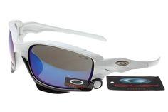 39df44b3ca5 Oakley Jawbone White-black Frame Blue Lens sale online