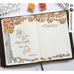 I am constantly amazed by the ingenuity of all the artists I follow. Check out how @teachplancraft added #stamp leaves to her tree #sketch. Amazing!!#Repost @teachplancraft (via @repostapp) ・・・ This week's layout was inspired by the coming of fall - the t