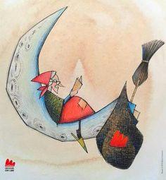 La Befana per Gallucci Editore.  Illustrazione di Marco Lorenzetti