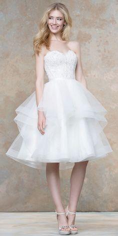 Ellis Wedding Dress Seperates   Corset 18024 & Skirt 18027