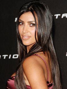 Не родись красивой: знаменитые красавицы до и после пластической хирургии. Ким Кардашьян