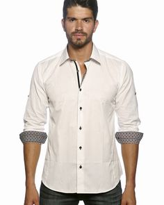 Lea [Size L] | Shirts for men, Shirts and White fashion