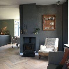 Neem een kijkje in Esmee - My Simply Special - Lilly is Love Interior Inspiration, Design Inspiration, Living Spaces, Living Room, Dark Interiors, Color Schemes, Kitchen Design, New Homes, Indoor