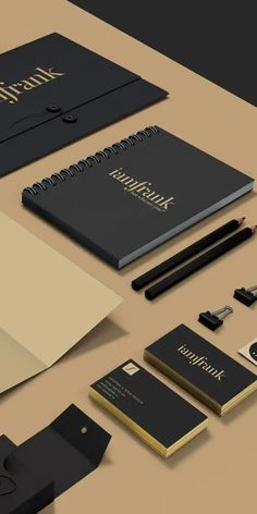 iamfrank - Personal branding & webdesign on Behance Corporate Identity Design, Brand Identity Design, Graphic Design Branding, Stationery Design, Business Branding, Logo Design, Luxury Business Cards, Business Card Design, Marca Personal