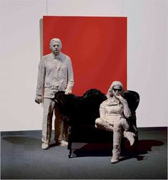 Robert and Ethel Scull, once had a Pop Art Collection comprised of numerous Museum Quality Masterpieces, before disposed by Sotheby's in 1973 and Contemporary Sculpture, Contemporary Artists, George Segal, Cast Art, Middle School Art, Scenic Design, Art And Architecture, Art Blog, Art History