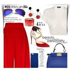 How To Wear red white and blue Outfit Idea 2017 - Fashion Trends Ready To Wear For Plus Size, Curvy Women Over 20, 30, 40, 50