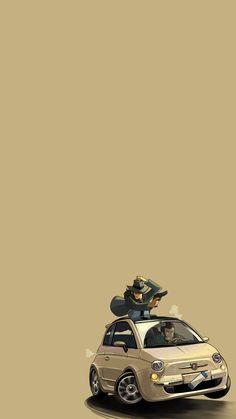 Pop Art Wallpaper, Apple Wallpaper, Pattern Wallpaper, Cool Car Stickers, Lupin The Third, Iphone Homescreen Wallpaper, Illustrations And Posters, Studio Ghibli, Doodle Art