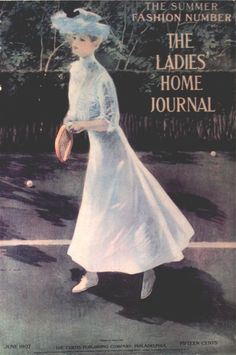 Henry Hutt - The Ladies Home Journal Magazine cover (June, 1907)