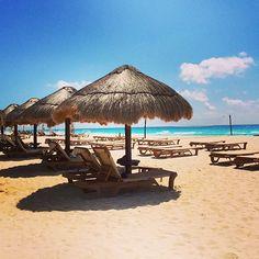 Relaxing in the sun - The Westin Lagunamar Ocean Resort Villas & Spa #svnlife #cancun