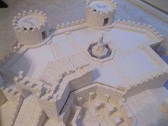 #Miniaturegaming #miniaturegamingterrain #foamcastle #foamcastlebrick