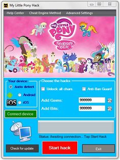 My Little Pony Hack Tool Cheats Engine Download No Survey