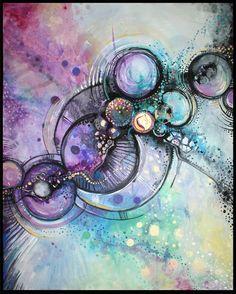 More Sandra Trubin. I love the colors.