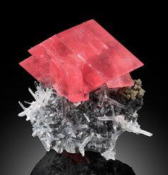 The Biggest Rhodochrosite Crystal Found In Sweet Home Mine Known As Alma King J Gajowniczek Photo