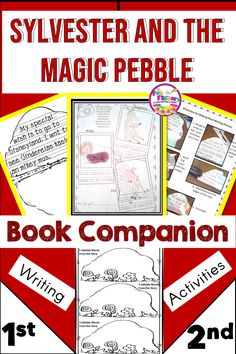 Task Shakti - A Earn Get Problem Sylvester And The Magic Pebble By William Steig Book Companion Activities Is Fun For First Grade And Second Grade Students. Five Days Of Lesson Plans Based On Sylvester And The Magic Pebble Are Already Done For You Teacher Blogs, Teacher Resources, Teaching Ideas, Sequencing Activities, Writing Activities, Elementary Teacher, Elementary Education, The Fun Factory, Lesson Plans