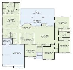 floor plan.  Really like this if the kitchen could be open
