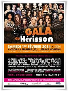 1er février 2014 Le Gala du Hérisson
