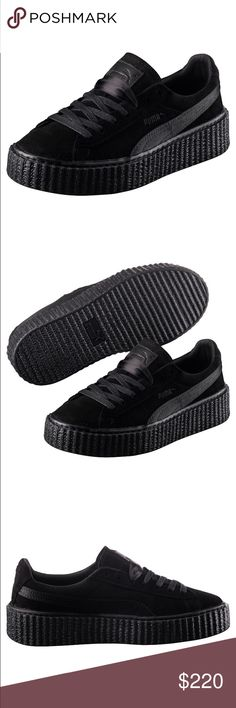 971ca79b088 Puma x Fenti Rihanna Puma Creepers Black Satin This listing is for a Brand  New in