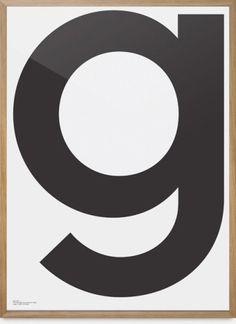 Grafisk poster från Playtype.