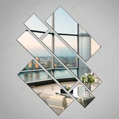 Espelho Decorativo Grande 100 Cm X 56 Cm Montado - R$ 120,00 em Mercado Livre
