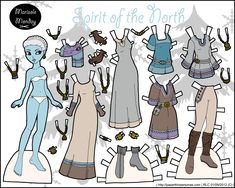 Free Paper Dolls | ... PNG to Print } { Click Here for More Paper Dolls in this Series