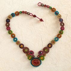 Maya Beaded Necklace | National Geographic Store