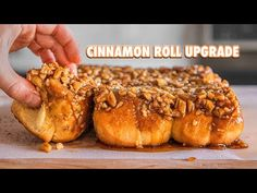 How to Make The Best Sticky Buns of Your life Sticky Buns - Unbedingt kaufen - Prime Sweet Recipes, New Recipes, Recipies, Pecan Cinnamon Rolls, Pecan Sticky Buns, Low Carb Flour, Caramel Pecan, Bun Recipe, Toasted Pecans