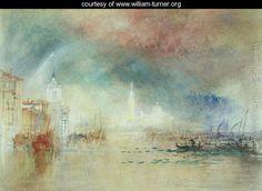 View of Venice from La Giudecca - Joseph Mallord William Turner - www.william-turner.org