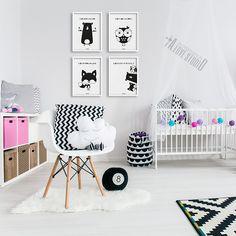plakaty-dla-dzieci-dekoracje-pokoj-dziewczynki-dziewczynki-mis-sowa-lis-2 Kids Bedroom, Toddler Bed, Lis, Kids Rugs, Baby, Furniture, Home Decor, Design, Child Bed