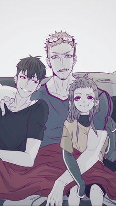 Papi Mo y sus retoños ♡ Anime Fr, Anime Kawaii, Anime Style, Manhwa, 19 Days Manga Español, Shonen Ai, Horimiya, Manga Boy, Boy Art