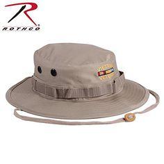 Rothco Vietnam Veteran Boonie Hat, Khaki, Size 7 1/2