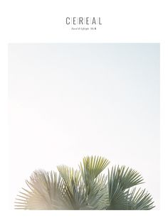 Cereal travel and lifestyle magazine - Volume 6